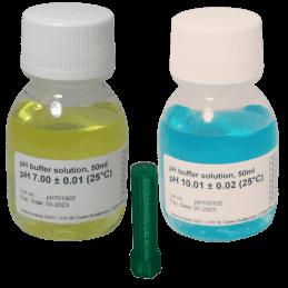Kit d'étalonnage pH 7-pH10