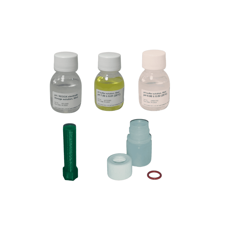 Kit d'etalonnage et d'hivernage pH7-pH9