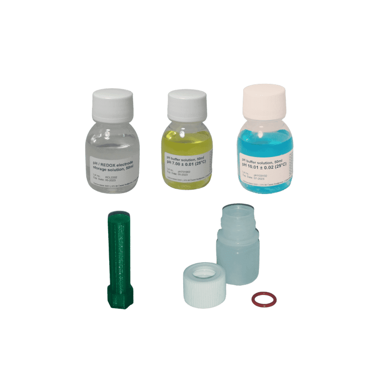 Kit d'etalonnage et d'hivernage pH7-pH10